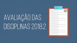 AVALIAÇÃO DE DISCIPLINAS 2018.2